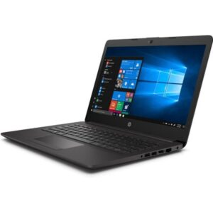 """Operating system Windows 10 Home Single Language 64 – HP recommends Windows 10 Pro for business Memory 8 GB DDR4-2666 MHz RAM (1 x 8 GB) Standard memory note Transfer rates up to 2666 MT/s. Memory Slots 2 SODIMM Internal Storage 1 TB 5400 rpm SATA HDD Storage type HDD Processor Intel® Core™ i5-1035G1 (1.0 GHz base frequency, up to 3.6 GHz with Intel® Turbo Boost Technology, 6 MB L3 cache, 4 cores)6 7 Processor family 10th Generation Intel® Core™ i5 processor Weight Starting at 1.52 kg8 Display size (diagonal) 35.6 cm (14"""") Display 35.6 cm (14"""") diagonal, HD (1366 x 768), anti-glare, 220 nits, 45% NTSC Touchscreen No Color gamut 45% NTSC Brightness 220 nits Minimum dimensions (W x D x H) 33.5 x 23.4 x 1.99 cm Graphics Integrated Graphics (integrated) Intel® UHD Graphics Battery type HP Long Life 3-cell, 41 Wh Li-ion Battery life note Battery is internal and not replaceable by customer. Serviceable by warranty. Power HP Smart 45 W External AC power adapter9 10 Keyboard Full-size island-style, spill and pick resistant keyboard Pointing device Touchpad with multi-touch gesture support Audio Dual speakers Expansion slots 1 multi-format digital media reader11 Ports 2 USB 3.1 Gen 1 1 USB 2.0 1 HDMI 1.4b 1 RJ-45 1 headphone/microphone combo 1 AC power12 Wireless Realtek RTL8821CE 802.11a/b/g/n/ac (1x1) Wi-Fi® and Bluetooth® 4.2 combo13 Security management TPM 2.0 Security lock slot14 15 Fingerprint reader Fingerprint reader not available Product color Dark ash silver Software included HP JumpStart HP Support Assistant McAfee LiveSafe™ HP Audio Switch HP Documentation HP Setup Integrated OOBE HP SSRM Manufacturer Warranty 1 year standard parts and labor limited warranty (1-1-0). 1 year limited warranty on primary battery.16 Ports Ports 2 USB 3.1 Gen 1 1 USB 2.0 1 HDMI 1.4b 1 RJ-45 1 headphone/microphone combo 1 AC power"""